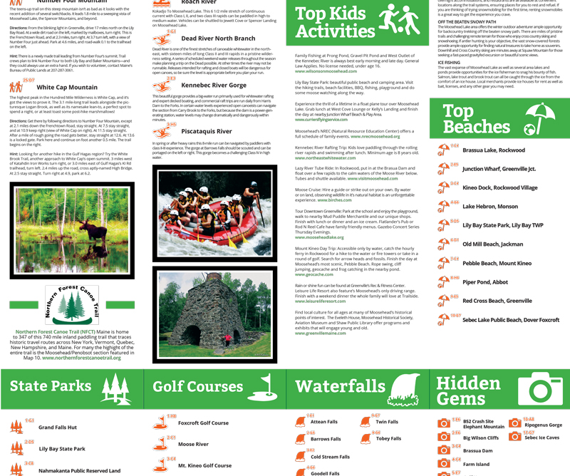 Moosehead Lake Area Activities Guide
