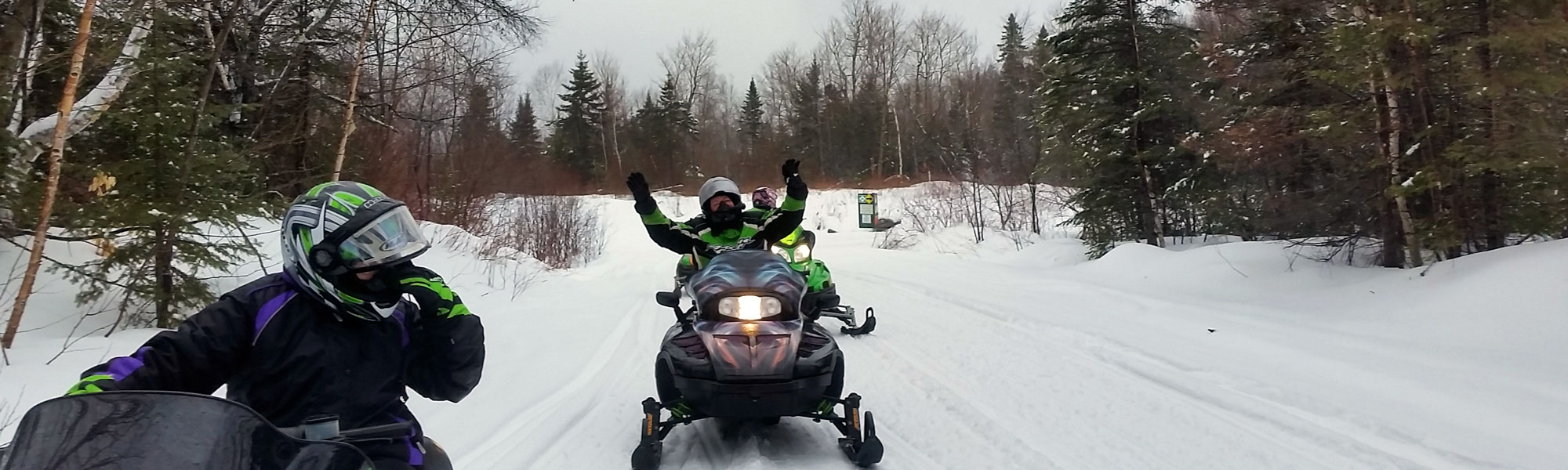 Snowmobiling in the Moosehead Lakes Area